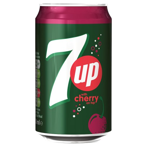 7UP Cherry 330ml - Pallet or Container Wholesale - UK Food Export