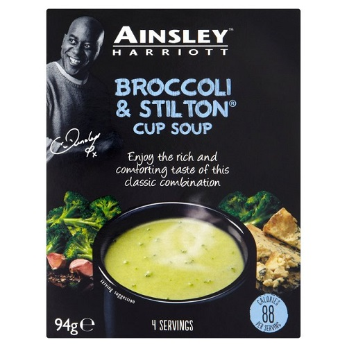 Ainsley Harriott Broccoli And Stilton Cup Soup