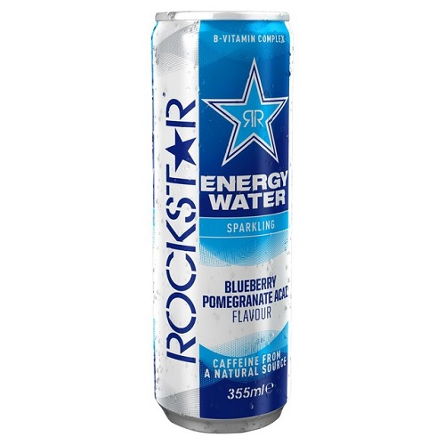 Barr Rockstar Water Blueberry