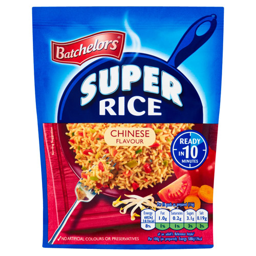 Batchelors Super Rice Curry Flavour