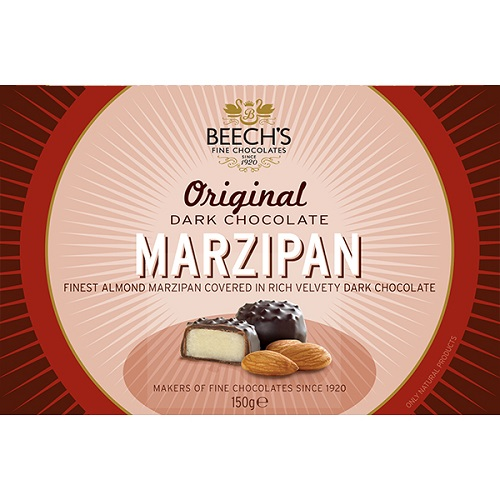 Beechs Dark Chocolate With Marzipan