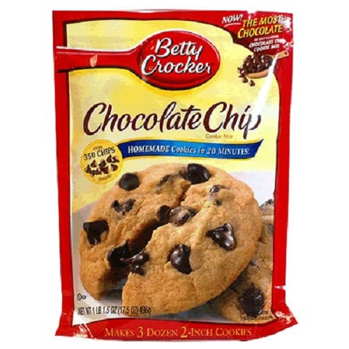 Betty Crocker Chocolate Chip Cookie Pouch