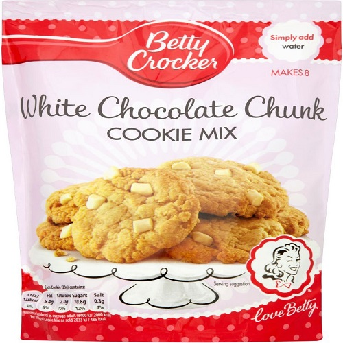 Betty Crocker White Chocolate Chunk Cookie Mix Pouch