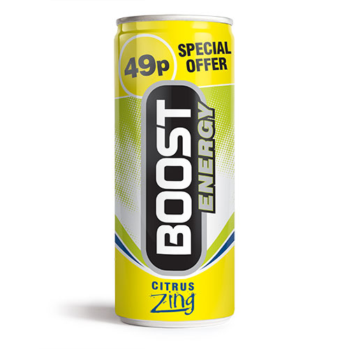 Boost Energy Citrus Zing Can