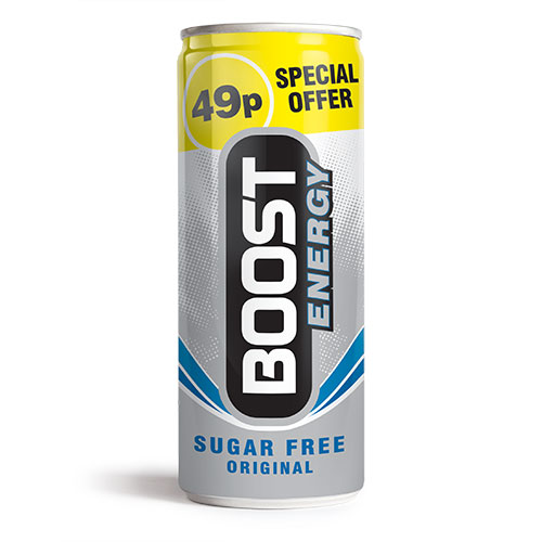 Boost Energy Original Sugar Free Can
