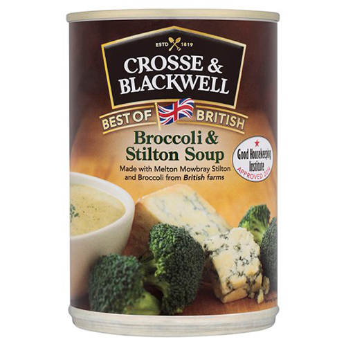 Crosse and Blackwell Best of British Broccoli And Stilton Soup