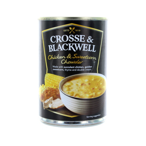 Crosse and Blackwell Premium Chicken And Sweet corn Chowder