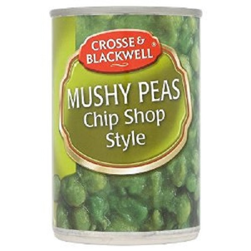 Crosse and Blackwell Mushy Peas Chip Shop Style