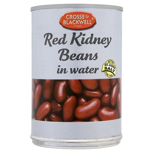 Crosse and Blackwell Red Kidney Beans In Water