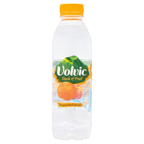 Danone Volvic Touch Of Fruit  Orange And Peach
