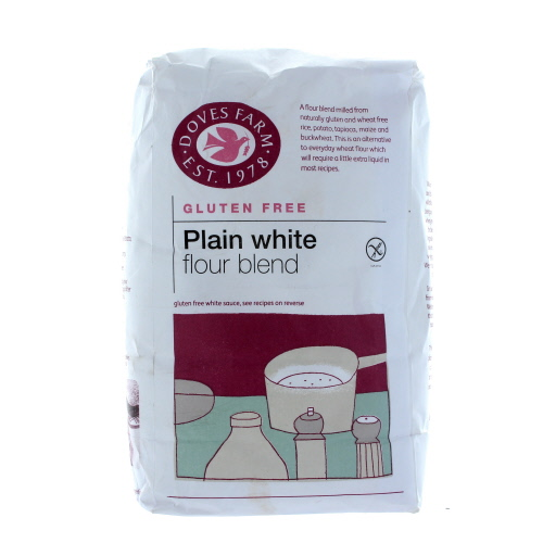 Doves Farm Gluten Free Plain White Flour Blend