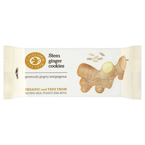 Doves Farm Stem Ginger Cookies