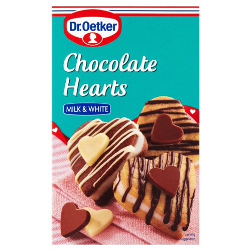 Dr Oetker Chocolate Hearts Carton