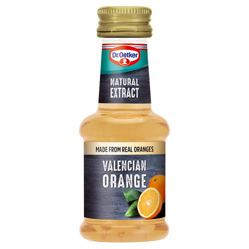 Dr Oetker Natural Valencian Orange Extract