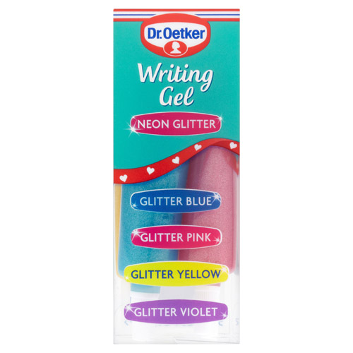 Dr Oetker Writing Icing Neon Glitter