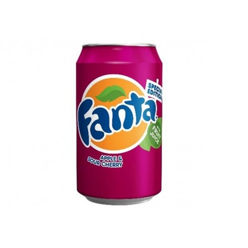 Fanta Apple And Sour Cherry