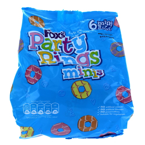 Foxs Party Rings Minis
