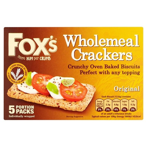 Foxs Wholemeal Crackers