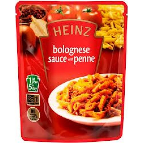Heinz Bolognese Sauce with Penne Pasta Pouch