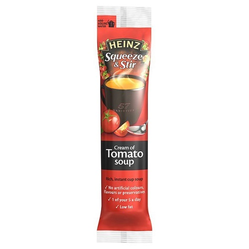 Heinz Squeeze And Stir Cream Of Tomato Soup