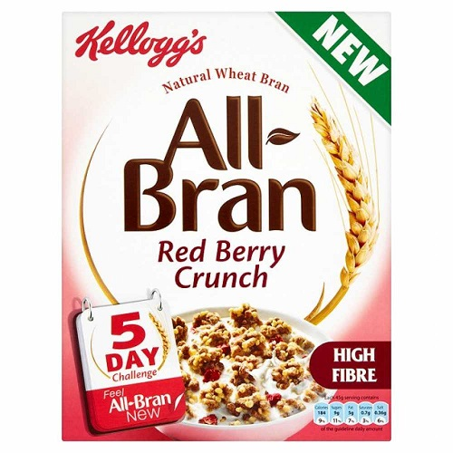 Kelloggs All-Bran Red Berry Crunch