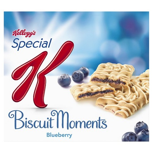 Kelloggs Special K Biscuit Moments Blueberry