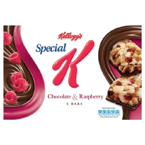 Kelloggs Special K Bar Chocolate And Raspberry Cereal Bars