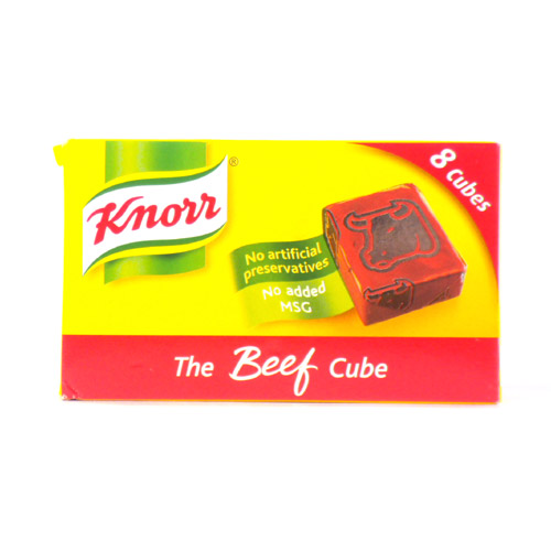 Knorr Beef Stock Cubes 8s Box