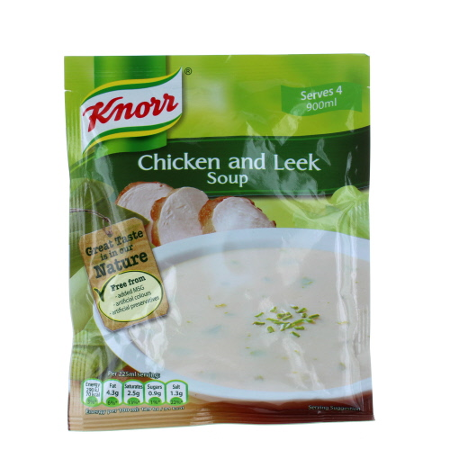 Knorr Chicken Leek Soup Pouch