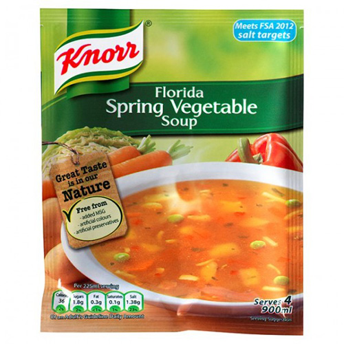 Knorr Florida Spring Vegetable Soup Pouch