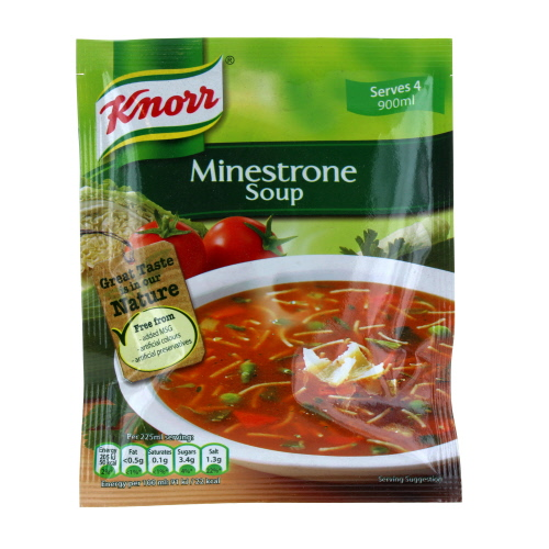 Knorr Minestrone Soup Pouch