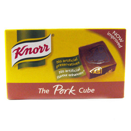 Knorr Pork Stock Cubes 8s Box