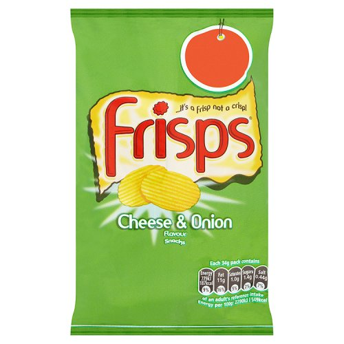 KP Frisps Cheese And Onion