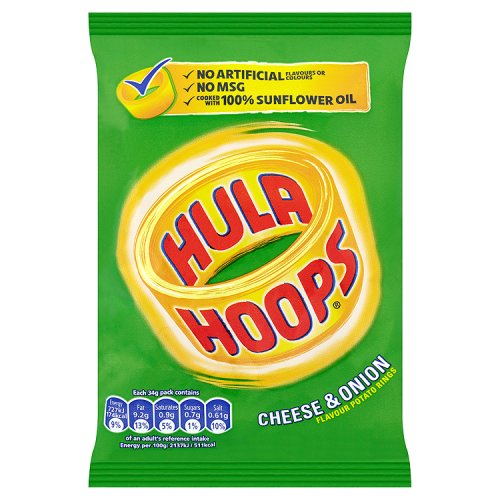 KP Hula Hoops Cheese and Onion