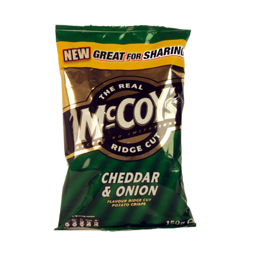 KP McCoys Cheddar And Onion