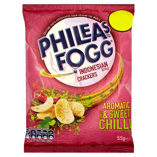KP Phileas Fogg Aromatic Spices And Sweet Chilli Cracker