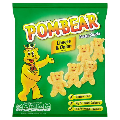KP Pom Bear Cheese and Onion