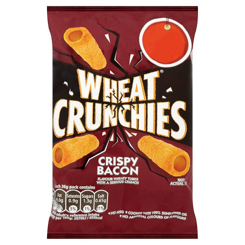 KP Wheat Crunchies Crispy Bacon