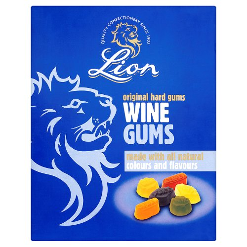 Lion Wine Gums Weigh Out Box