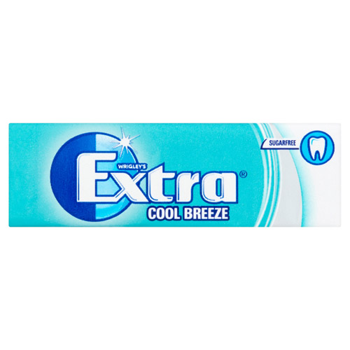 Mars Extra Cool Breeze Sugarfree Gum