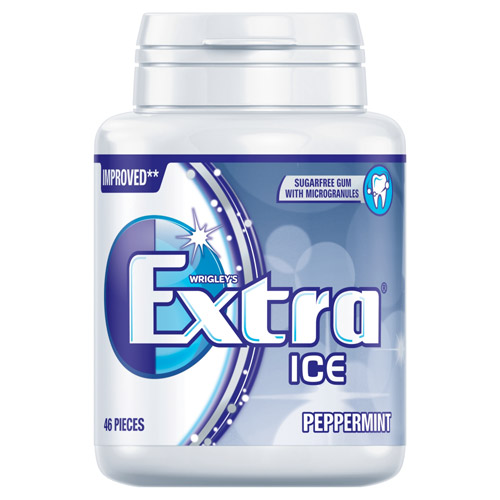 Mars Extra Ice Peppermint Bottle Pack Sugarfree Gum