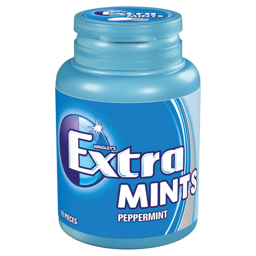 Mars Extra Peppermint 70 Bottle Pack Sugarfree Mints