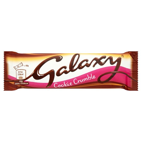 Mars Galaxy Cookie Crumble Chocolate Bar