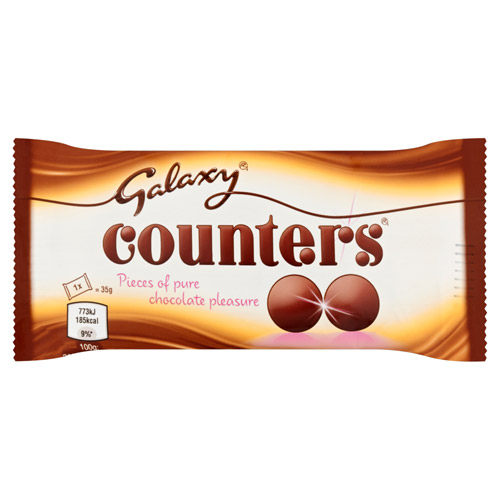 Mars Galaxy Counters Chocolate Bag