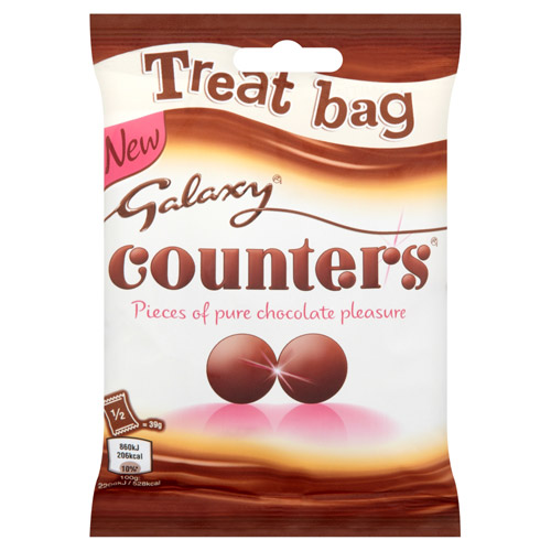 Mars Galaxy Counters Chocolate Treat Bag