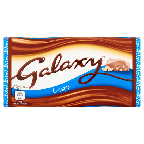 Mars Galaxy Crispy Chocolate Block