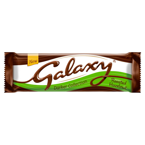Mars Galaxy Darker Milk With Hazelnuts Chocolate Bar