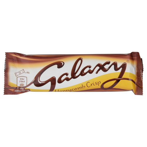 Mars Galaxy Honeycomb Crisp Chocolate Bar