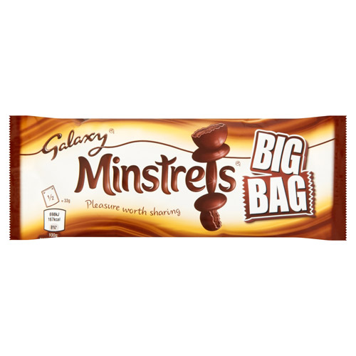 Mars Galaxy Minstrels Chocolate Big Bag