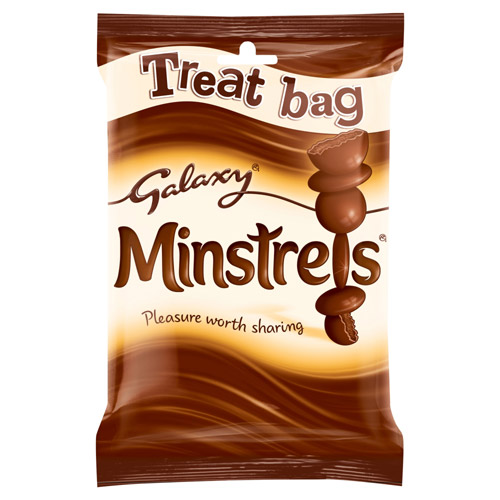 Mars Galaxy Minstrels Chocolate Treat Bag